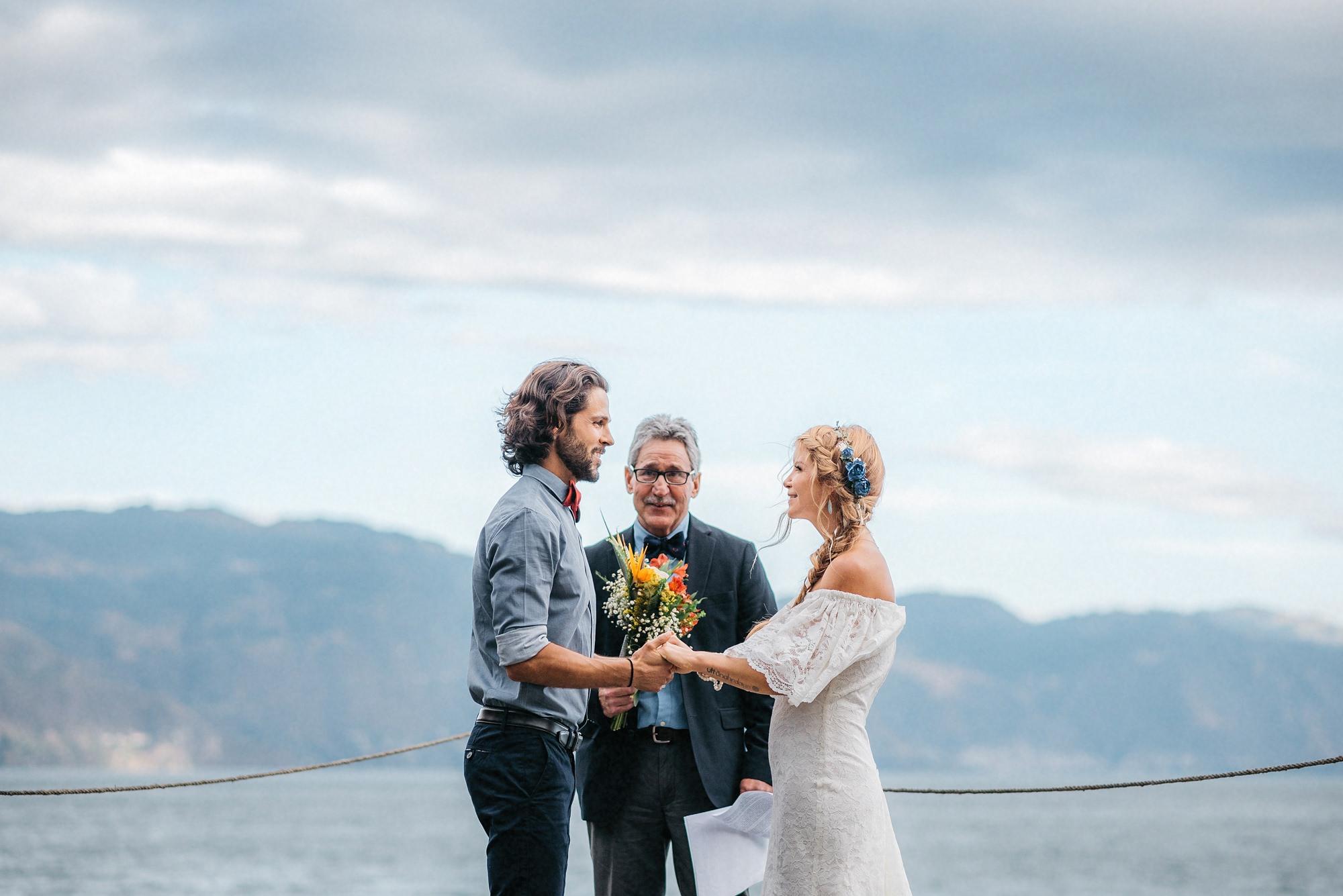 most beautiful lake wedding guatemala