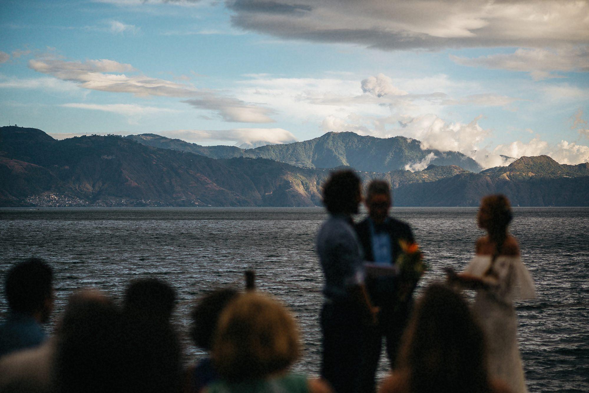 lake atitlan most beautiful wedding