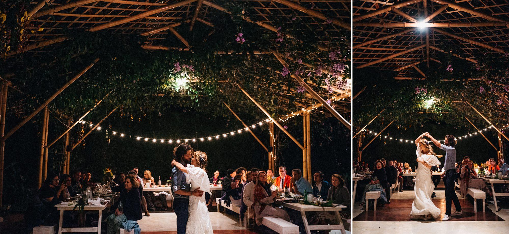 wedding reception lake atitlan