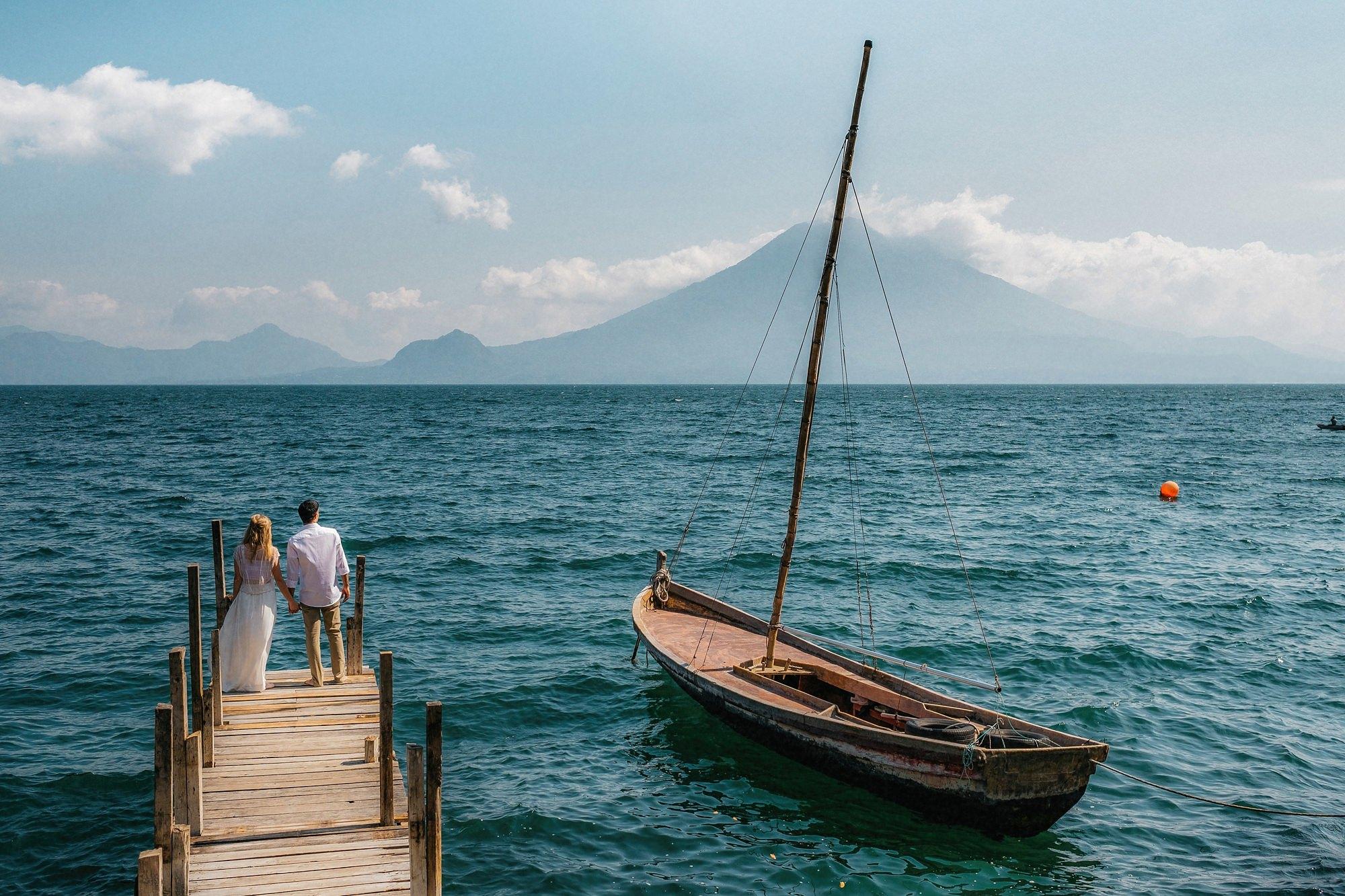 Elopement Lake Atitlan Guatemala