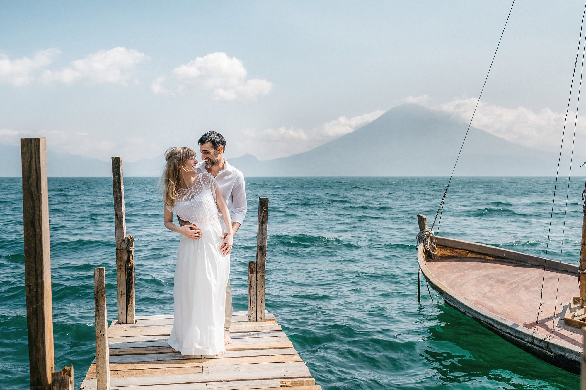 Wedding Elopement Lake Atitlan Guatemala