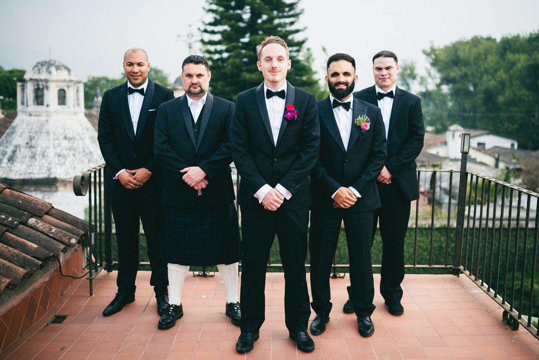 Groomsmen Guatemala