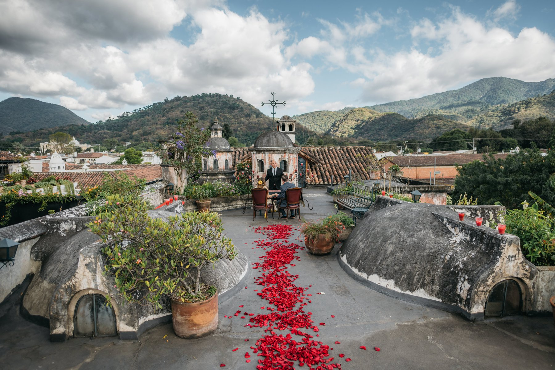 Elopement in Antigua Guatemala