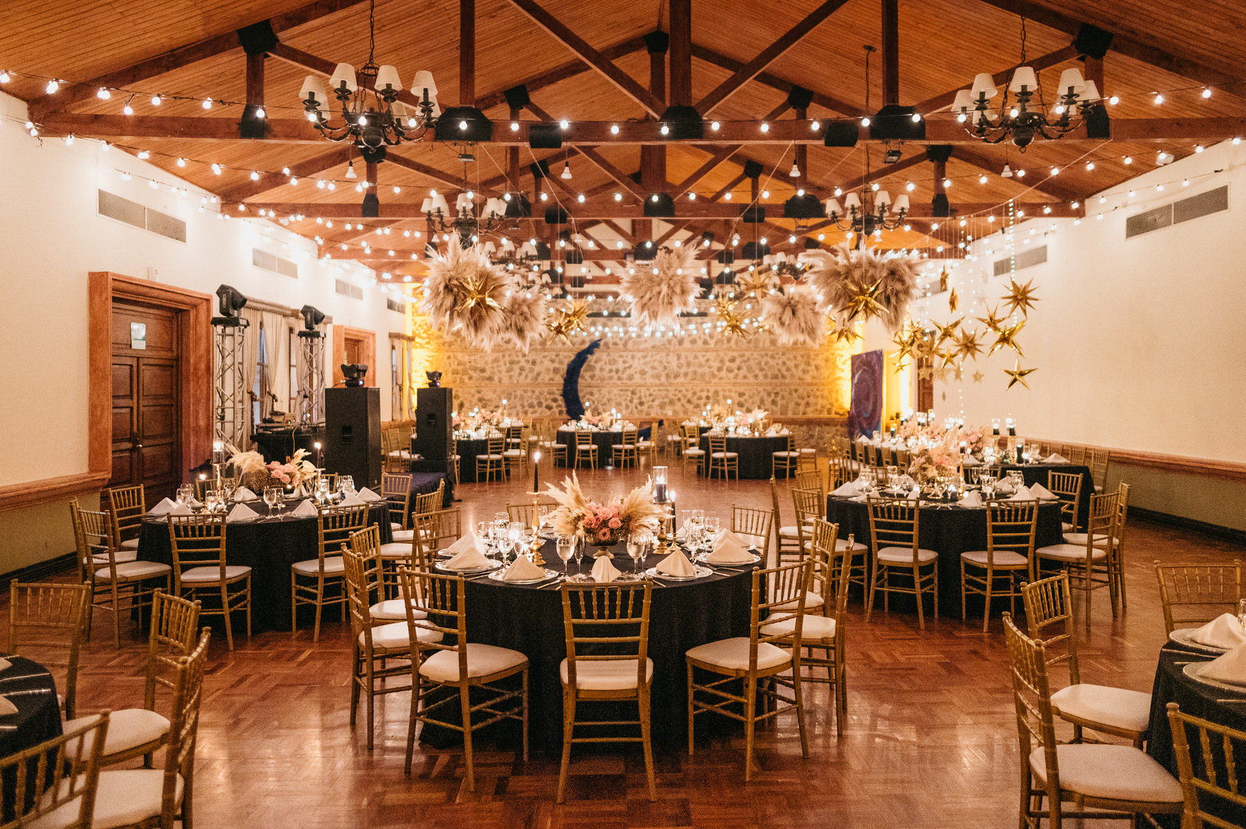 Wedding Reception at Porta Hotel In Antigua Guatemala