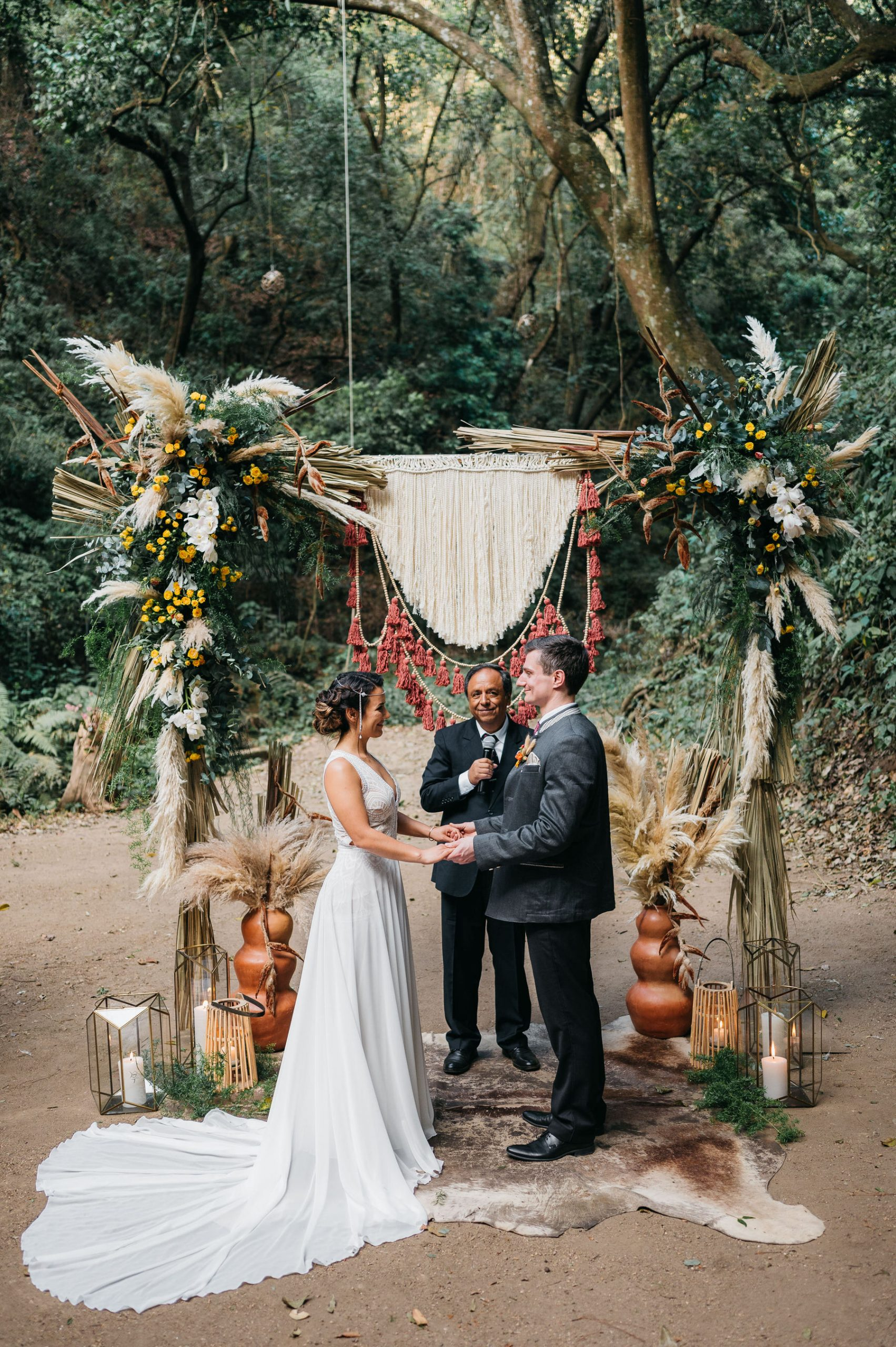 Wedding at Casa Blanca Glamping Antigua Guatemala