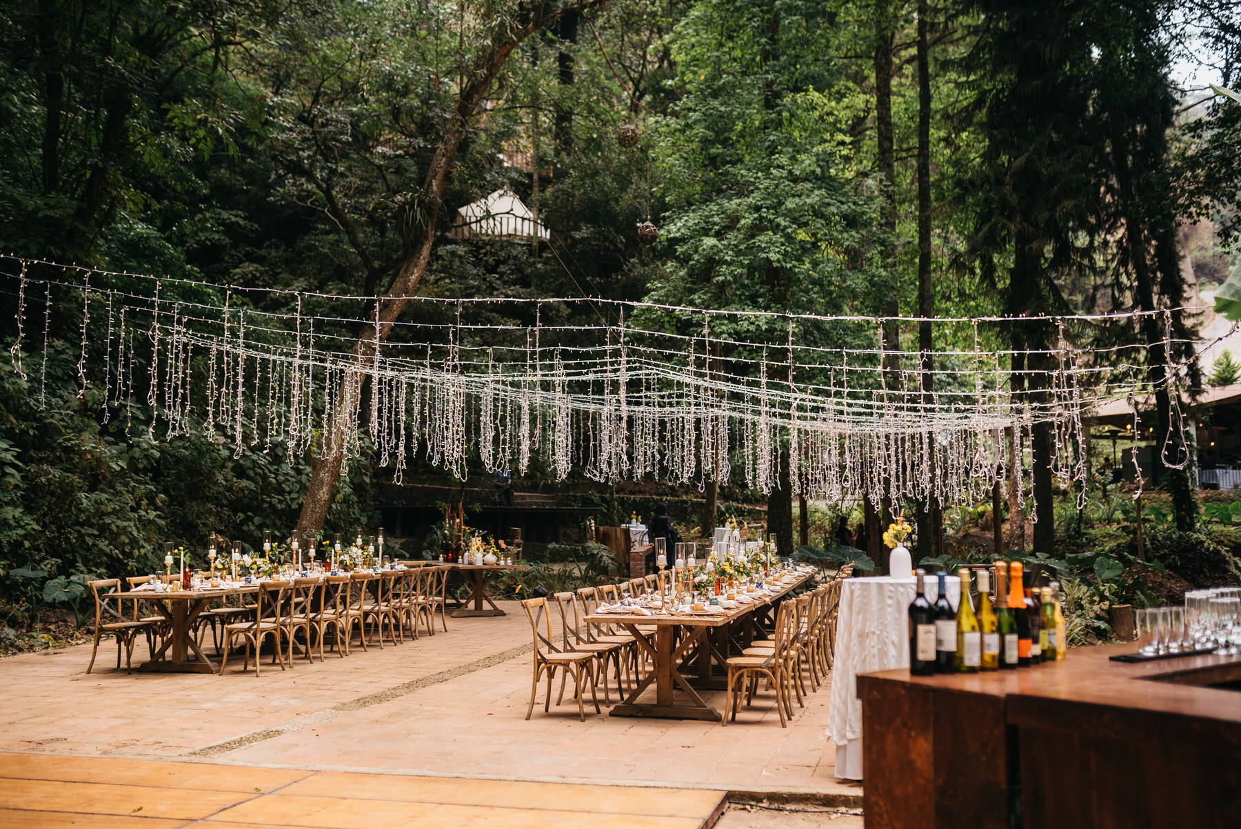 Casa Blanca Glamping Wedding