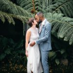 Wedding Photo at Pensativo Hotel with vegetation